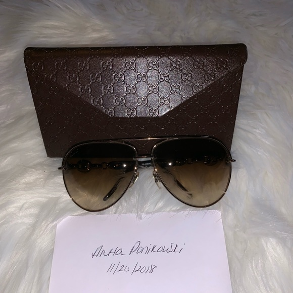 555e26a60e5b Gucci Accessories | Authentic Marina Chain Sunglasses | Poshmark